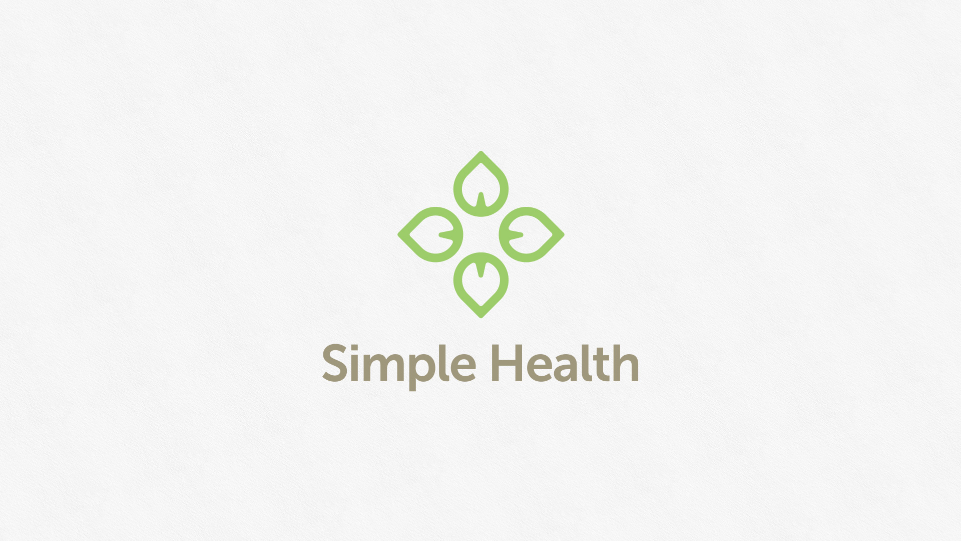 Simple Health Logo Design