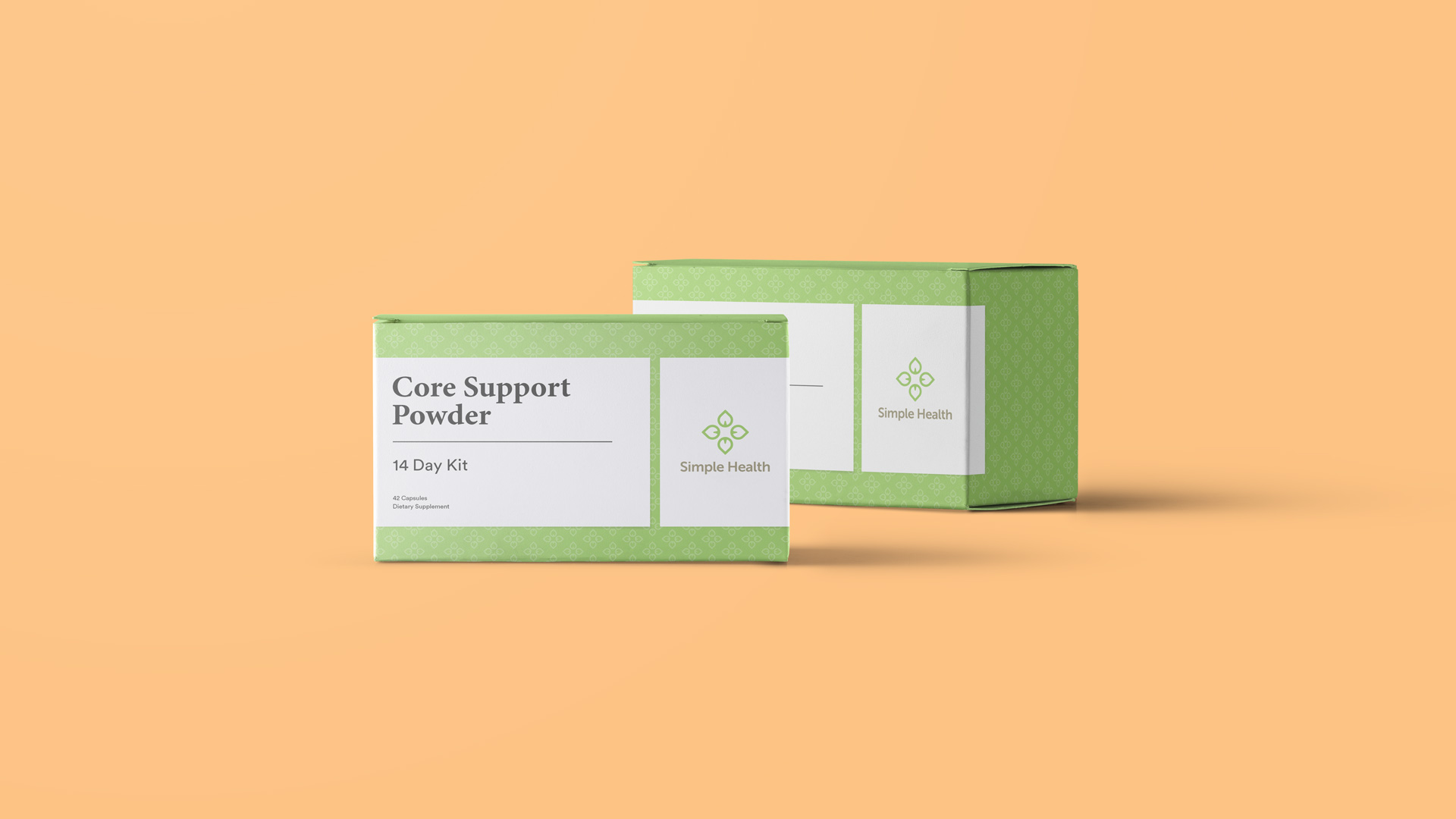 Simple Health Packaging Design - Boxes